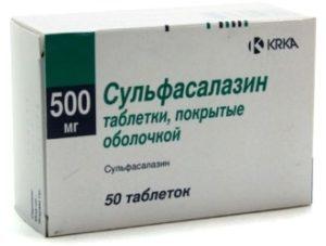 Сульфасалазин при ревматоидном артрите: отзывы о лечении и инструкция по применению