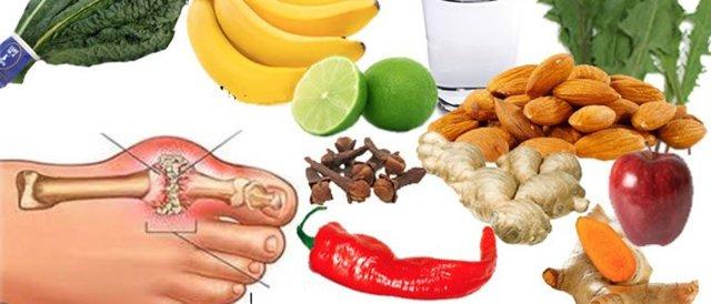 Витамины при подагре: названия полезных витаминов и микроэлементов