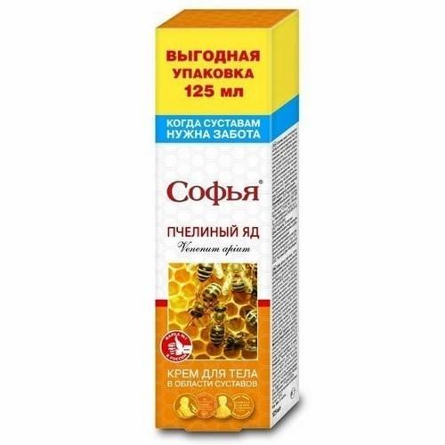 Пчелиный яд для суставов: крем Софья, Живокост и другие эффективные мази